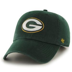 '47 Brand NFL カジュアルキャップ (CLEAN UP CAP/クリーンナップ キャップ) グリーンベイ・パッカーズ|g2sports