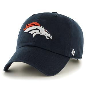 '47 Brand NFL カジュアルキャップ (CLEAN UP CAP/クリーンナップ キャップ) デンバー・ブロンコス