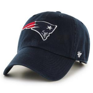 '47 Brand NFL カジュアルキャップ (CLEAN UP CAP/クリーンナップ キャップ) ニューイングランド・ペイトリオッツ|g2sports