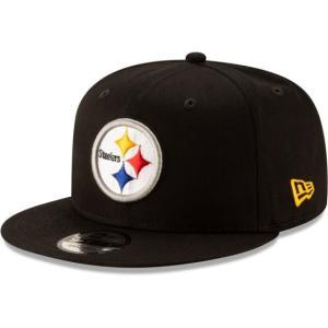 NEW ERA (ニューエラ) NFLフラットバイザー/スナップバックキャップ (9FIFTY 950 CAP) ピッツバーグ・スティーラーズ|g2sports