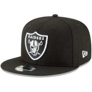 NEW ERA (ニューエラ) NFLフラットバイザー/スナップバックキャップ (9FIFTY 950 CAP) オークランド・レイダース|g2sports