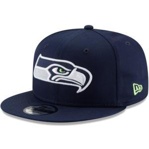 NEW ERA (ニューエラ) NFLフラットバイザー/スナップバックキャップ (9FIFTY 950 CAP) シアトル・シーホークス g2sports