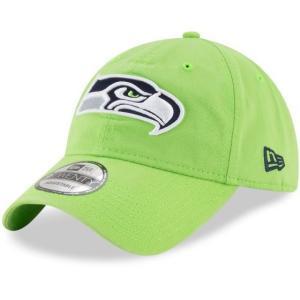 NEW ERA (ニューエラ) NFLカジュアルキャップ (9TWENTY 920 NFL CAP) シアトル・シーホークス ※ライトグリーンバージョン|g2sports