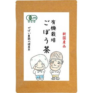 有機栽培 ごぼう茶 2g×40包 無農薬 国産(宮崎県) 残留農薬・放射能検査済
