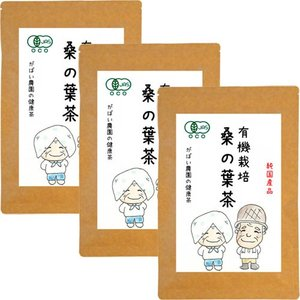 有機栽培 桑の葉茶 3g×40包 お得な3個セット 無農薬 国産(兵庫県産) 残留農薬・放射能検査済