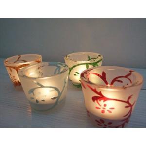 キャンドルホルダー グラス 優しい灯りに包まれてリラックス |gacha-com