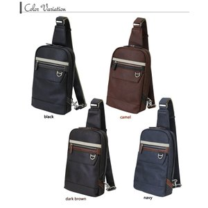LINA GINO リナジーノ ボディバッグ ボデーィバック  大容量ワンショルダー 10inchタブレットを持ち運べる 4色カラー |gacha-com