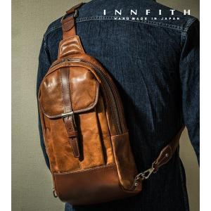 INNFITH インフィス MOVE iPad対応 縦型 ボディバッグ 55016  |gacha-com