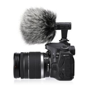 外付けマイク EIVOTOR 一眼レフマイク カメラマイク 外部マイク 携帯マイク pc用マイク 一...