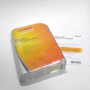 Microsoft Office 2007 Professional アップグレード製品版 中古 office xp Personalおまけ付|gadget-sale
