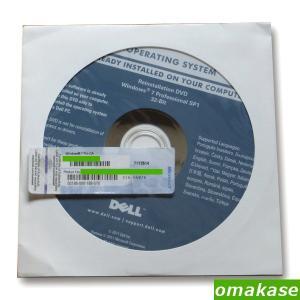 DELL Reinstallation DVD Windows 7 Professional 32-Bit SP1+NECプロダクトキーセット 代金引換のみ gadget-sale