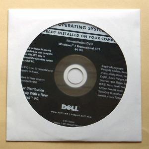 DELL Reinstallation DVD Windows 7 Professional 64-Bit SP1 gadget-sale