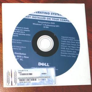 DELL Reinstallation DVD Windows 7 Professional 32-Bit SP1 プロダクトキーセット|gadget-sale