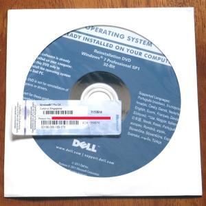 DELL Reinstallation DVD Windows 7 Professional 32-Bit SP1+レノボ Lenovo プロダクトキーセット gadget-sale
