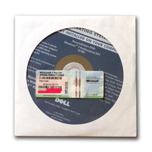 DELL Reinstallation DVD Windows 7 Professional 32-Bit SP1+EPSON エプソン プロダクトキーセット gadget-sale