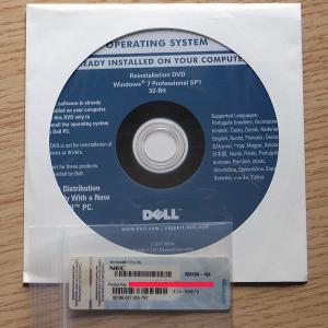DELL Reinstallation DVD Windows 7 Professional 32-Bit SP1+NECプロダクトキーセット gadget-sale