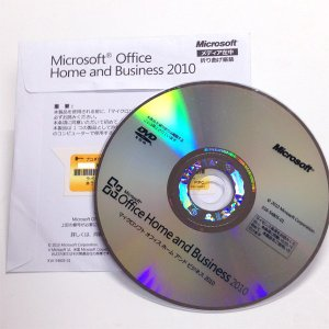 送料無料 Microsoft Office Home and Business 2010 OEM版 開封済み中古DVDのみ|gadget-sale