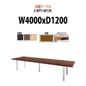 会議テーブル E−MTYシリーズ   サイズ:W4000×D1200×H720mm   ●天板/表面...