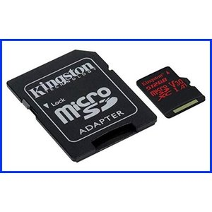 Professional Kingston 128GB for Microsoft Lumia 950 Dual MicroSDXC Card Custom Verified by SanFlash. 80MBs Works with Kingston