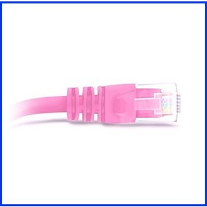 Pink 1Gbps Network//Internet Cable Professional Series 350MHZ 6 Pack BoltLion BL-692736 Snagless Cat5e RJ45 Ethernet Cable 75 Feet