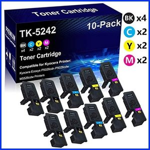 TopInk TK-8337 Replacement for Kyocera Taskalfa 3252ci Printer Toner Cartridge High Yield-2 Black