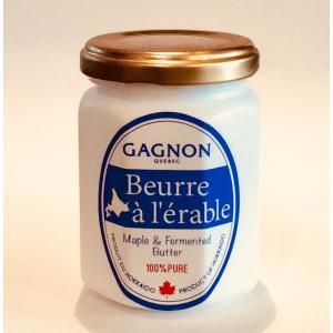 【GAGNON】北海道醗酵バター&メープル [110g]  ※冷蔵便にて発送|gagnon-maple