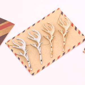 半額セール♪鹿の角のヘアピンパーツ 5個入り【在庫切れ次第販売中止】|gaikicraft