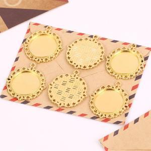 レス淵円形のセッティング 20個入り【選べる4色】|gaikicraft