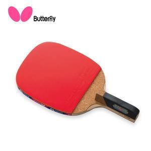 ◆◆○ <バタフライ> Butterfly センコー2000 ラバーばりラケット 10940 卓球 ラケット ペンホルダー(10940-but1)|gainabazar