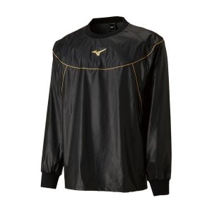 ◆◆ <ミズノ> MIZUNO 減量衣シャツ[ユニセックス] 22JC8A90 (09:ブラック)|gainabazar