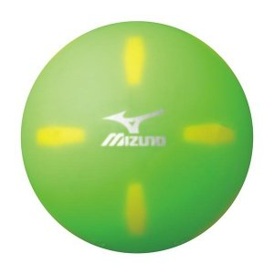 ◆◆ <ミズノ> MIZUNO パークゴルフボール クロスショット/エス 24OP82000 (35:グリーン)|gainabazar