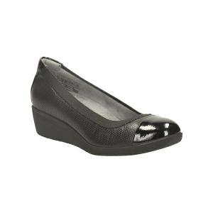 ◆◆ <クラークス> CLARKS Petula Sadie 26110849 (Black Leather) Clarks レディース パンプス(26110849-clk1)|gainabazar