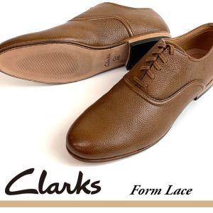 即納可☆ 【Clarks】クラークス 超特価 Form Lace メンズ 本革靴 カジュアルシューズ...
