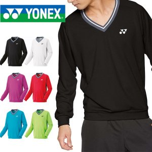 即納可★ 【YONEX】ヨネックス テニス バドミントン 厚手 トレーナー メンズ ユニセックス 32026|gainabazar