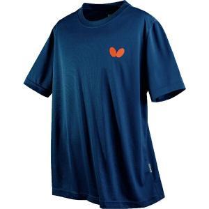 ◆◆○送料無料 メール便発送 <バタフライ> Butterfly 卓球Tシャツ ウィンロゴ・Tシャツ ネイビー 45230-178 卓球 ウェア ユニセックス(45230-178-|gainabazar