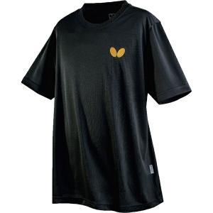 ◆◆○送料無料 メール便発送 <バタフライ> Butterfly 卓球Tシャツ ウィンロゴ・Tシャツ ブラック 45230-278 卓球 ウェア ユニセックス(45230-278-|gainabazar