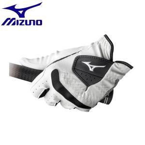 ◆◆送料無料 メール便発送 <ミズノ> MIZUNO 手袋/コンフィグリップ/左手(ゴルフ)[ユニセックス][メンズ] 5MJML602 (01:ホワイト) ゴルフ gainabazar