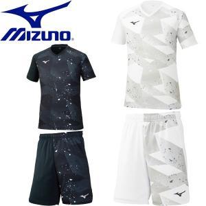 ◆◆ <ミズノ> 【MIZUNO】 ユニセックス ゲームシャツ&パンツ テニス ゲームウェア 上下セット セットアップ 62JA0005-62JB0005|gainabazar