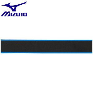 ◆◆送料無料 メール便発送 <ミズノ> MIZUNO グリップテープ(ストライププリント) 63JYA841 (27:ブラック×ブルー) テニス バドミントン|gainabazar