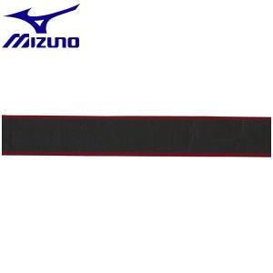 ◆◆送料無料 メール便発送 <ミズノ> MIZUNO グリップテープ(ストライププリント) 63JYA841 (62:ブラック×レッド) テニス バドミントン|gainabazar