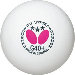 ◆◆○ <バタフライ> Butterfly スリースターボールG40+ 1ダース ホワイト 95750-270 卓球(95750-270-but1)|gainabazar