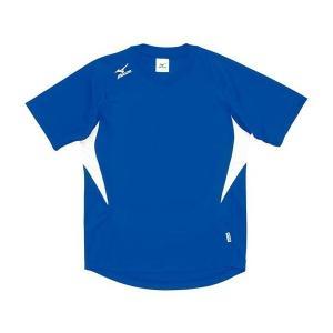 ◆◆送料無料 メール便発送 <ミズノ> MIZUNO ゲームシャツ(ドッジボール) A62HY144 (24:ブルー×ホワイト)|gainabazar