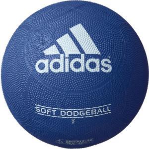 ◆◆ <アディダス> ADIDAS ソフトドッジボール AD210B (紺×青)|gainabazar