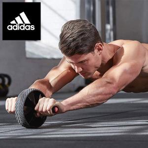 送料無料 定形外発送 即納可☆ 【adidas】アディダス アブローラー 腹筋ローラー エクササイズ フィットネス ADAC11404|gainabazar