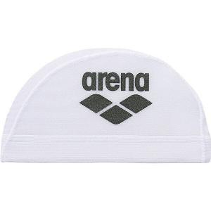 ◆◆○ <アリーナ> ARENA メッシュキャップホワイト/ブラク ARN6414-WBK(arn6414-wbk-are1)|gainabazar
