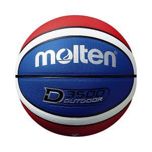 ◆◆ <モルテン> MOLTEN D3500 B6D3500C (青×赤×白) (バスケットボール)|gainabazar