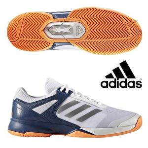 即納可☆ 【adidas】アディダス アディゼロ adizero court テニスシューズ オールコート メンズ(ba9085-2-16skn) gainabazar