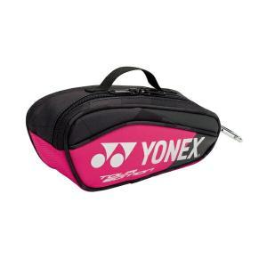 ◆◆ <ヨネックス> YONEX ミニチュアラケットバッグ BAG18MN (181:ブラック/ピンク) (bag18mn-181-ynx1)|gainabazar