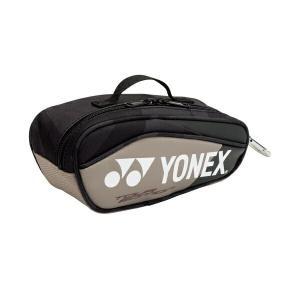 ◆◆ <ヨネックス> YONEX ミニチュアラケットバッグ BAG18MN (695:プラチナ) (bag18mn-695-ynx1)|gainabazar