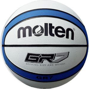 ◆◆ <モルテン> MOLTEN GR7 BGR7WB (ホワイト×ブルー) (バスケットボール)|gainabazar